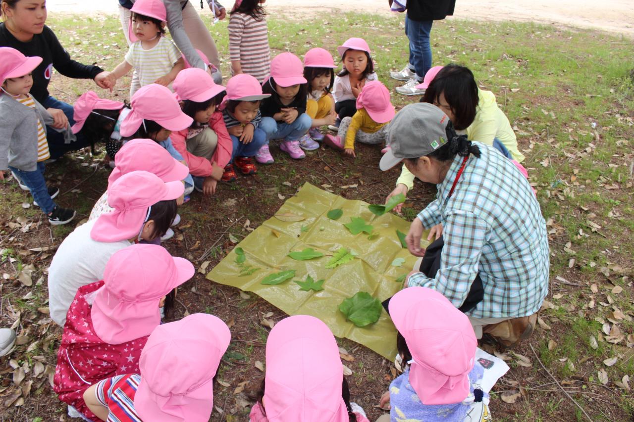 2018年5月18日 広島県緑化センター遠足