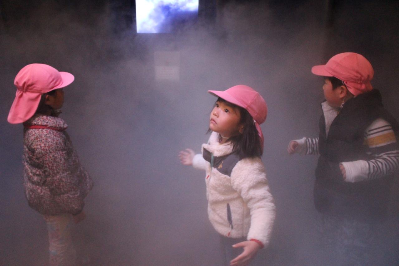 2018年2月28日 江波山気象館見学