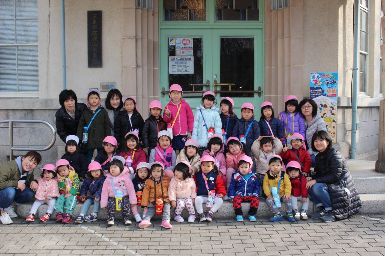 2019年2月22日 江波山気象館見学